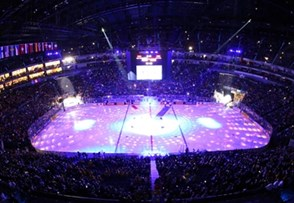 COLOGNE, GERMANY - MAY 5: Opening ceremonies prior to USA vs Germany preliminary round action at the 2017 IIHF Ice Hockey World Championship. (Photo by Andre Ringuette/HHOF-IIHF Images)