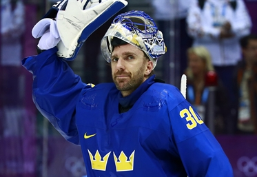Henrik Lundqvist Comes 2017 Wm International Ice Hockey