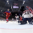 COLOGNE, GERMANY - MAY 13: Russia's Andrei Mironov #94 (not shown) scores a first period goal against Slovakia's Julius Hudacek #33 while Ivan Telegin #7, Sergei Plotnikov #16 and Eduard Sedivy #12 look on during preliminary round action at the 2017 IIHF Ice Hockey World Championship. (Photo by Andre Ringuette/HHOF-IIHF Images)