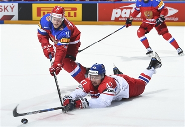 Russia rolls over Czechs