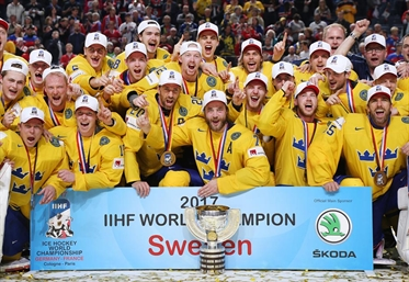 TRE KRONOR TAKES GOLD